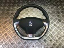 10-18 CITROEN DS3 3 SPOKE LEATHER STEERING WHEEL WITH AIRBAG