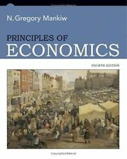 Principles of Economics, 4th Edition (Student Edition), Mankiw, N. Gregory, Good