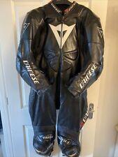 Dainese Laguna Seca One Piece Black Anthracite EU 58 UK 48 Motorcycle Leather