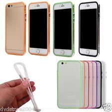 Custodia Bumper Cover TPU Flessibile Multicolor Gomma Plastica per Apple iPhone
