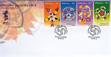 Malaysia First Day Cover Malaysian Unity Series II 2012