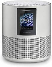 New Bose Home Speaker 500 with Alexa Built In Silver. Retail Package. Unopened