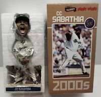 CC SABATHIA MILWAUKEE BREWERS Bobblehead Vtg Cleveland Indians New York Yankees