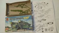 BOX & INSTRUCTIONS FOR AIRFIX 1:72 BUFFALO WILLYS JEEP MODEL KIT LANDING VEHICLE