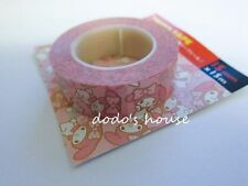 Sanrio Japan My Melody Stationery Easy Tear Paper Tape Stickers B