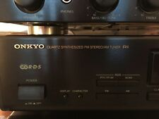 Original ONKYO T-4031RDS HiFi Stereo Tuner - TOP