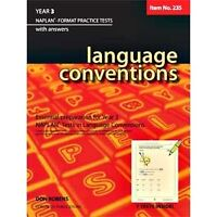 Language Conventions Year 3 NAPLAN* Format Practice Tests