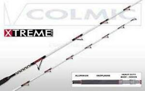 Fishing Rod Pro Light White Series Colmic For Bolentino Trolling Bolognese by B