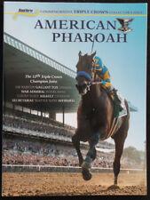 SECRETARIAT, AMERICAN PHAROAH - BLOOD HORSE TRIPLE CROWN COMMEMORATIVE MAGAZINE!