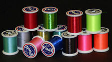 Fuji UltraPoly 100m Metallic Size D Rod Building Thread Fishing -Pick Color