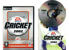 EA SPORTS CRICKET 2002. GAME FOR THE PC. ORIGINAL VERSION WITH MANUAL!!