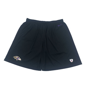 Baltimore Ravens Team Issued Nike shorts Size 4XL
