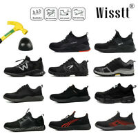 Mens Indestructible Work Boots Safety Shoes Steel Toe Cap Breathable Sneakers AU