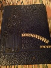 BLUE MOUNTAIN COLLEGE YEARBOOK 1937, BLUE MOUNTAIN MISSISSIPPI
