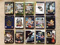 PS2 Wii XBOX GAMES GTA MARIO GALAXY ONIMUSHA GOD OF WAR RESIDENT EVIL + £5 EACH!