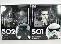 Nendoroid Star Wars Stormtrooper Darth Vader PVC Figure Collectible Model Toy