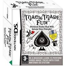 MAGIC MADE FUN PLAYING CARD GAMES NINTENDO DS NDS 2DS 3DS VIDEOGIOCO NUOVO Regno Unito