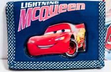 Disney Cars Lightning McQueen Kid's Wallet Blue