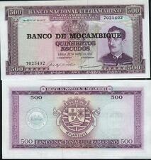 MOZAMBIQUE Billet neuf de 500 Escudos Pick118 C.XAVIER  et BLASON  1976