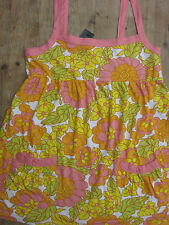 NEW WOMENS CLOTHES FLORAL LONG TOP / T SHIRT ATMOSPHERE SIZE EUR 36 UK 8 BNWT