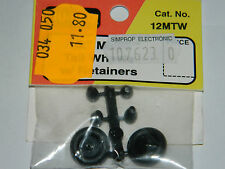 DU-BRO dubro 12MTW 1/2 Micro Tail Wheels w/Retainers RC Airplanes DUB12MTW