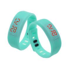 Nuevos Colores Para Hombre Para Mujer De Silicona Led Goma Pulsera Touch Digital Reloj De Pulsera