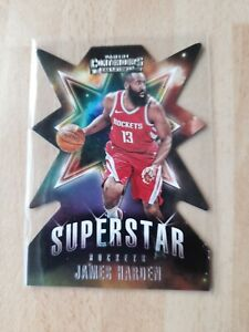 JAMES HARDEN ROCKETS 2018-19 PANINI CONTENDERS SUPERSTAR DIE CUT CARD.No 6.RARE