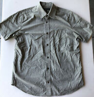 Men's Banana Republic Soft Wash Short Sleeve Button Down Shirt Pre-Owned Size M