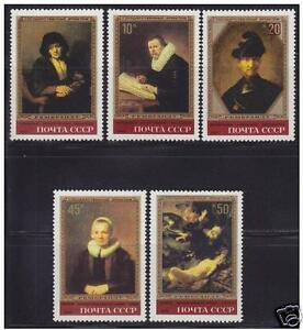 Russia, USSR, 1983, painter Rembrandt paintings in Hermitage in Leningrad