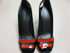 Women's Nine West drazly patent, black/red shoe