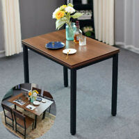 Brown Folding Kitchen Dining Table Breakfast Nook Small Household Furniture Desk