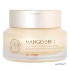 The Face Shop Mango Seed Silk Moisturizing Facial Butter 50ml + Free gift!