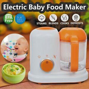 Multi-function Baby Food Processor Blender Steamer & Juicer
