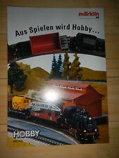 Märklin Katalog wie neu - Aus Spielen wird Hobby - 1991 /92   -15