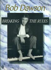 "BOB DAWSON ""BREAKING THE RULES"" PIANO SOLOS MUSIC BOOK COLLECTORS ITEM ON SALE!!"