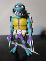 Neca TMNT Teenage Mutant Ninja Turtles Turtles In Time Slash LOOSE~