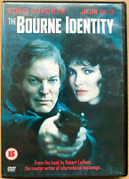 Bourne Identity DVD 1988 Robert Ludlum Spy Suspense TV Mini Serie