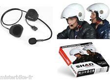 kit mains libres téléphone smartphone GPS MP3 intercom bluetooth casque moto