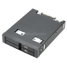 "Dual Bay 2.5"" SATA III Hard Disk Drive HDD&SSD Docking Station Hot Swap C0N5"