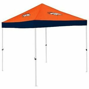 Denver Broncos Logo Gameday Tailgating Canopy Camping Pop Up 9 x 9 Tent