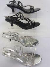 Anne Michelle Women's Synthetic Strappy, Ankle Straps Kitten Heels
