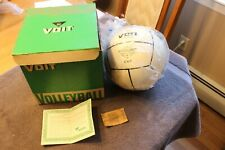 C. 1960's AMF Voit Enduro volleyball (unused in original box) old store stock