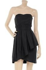 ALICE by TEMPERLEY BLACK DESIGNER JUDE DRESS SIZE UK14 (USA10) - New