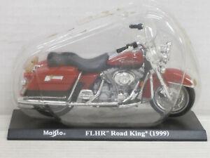 Motorrad Harley-Davidson FLHR Road King rot, Blister, Maisto, Mega Bikes 7, 1:18