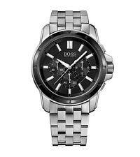 HUGO BOSS Armbanduhren mit Edelstahl-Armband und 50m (5 ATM)
