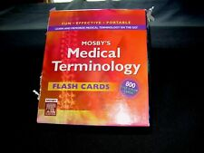 Medical Terminology - Flash Cards - Mosby - 800 Cards - Price Cut