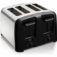 Hamilton Beach Cool Wall 4-Slice Toaster, Chrome W