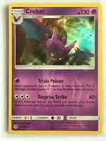 Crobat 56/149 HOLO Rare Pokemon Sun and Moon Base Set TCG Card NM