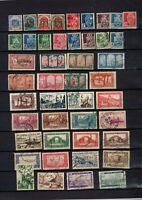 Colonies : 126 timbres Algérie avant indépendance