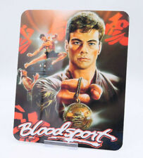 BLOODSPORT - Glossy Bluray Steelbook Magnet Magnetic Cover (NOT LENTICULAR)